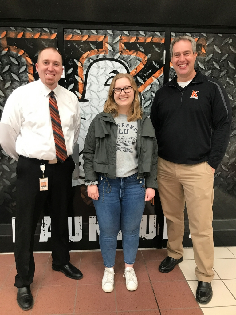 Kaukauna High School alumnus Molly Ruffing (2018) and her First of Many program at KHS has earned Lawrence University's 2021 Community...