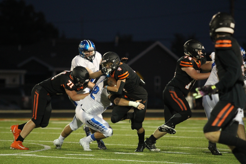 FOND DU LAC — Fond du Lac led Kaukauna just 10-0 at halftime of last Friday night's rain-soaked game at Fruth Field. But a couple of...