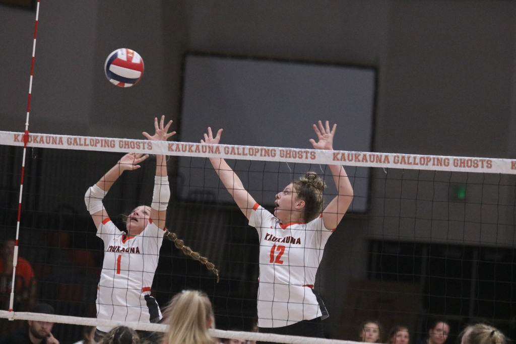 The Kaukauna girls' volleyball team won two Fox Valley Association matches last week before travelling to De Pere for an Invitational on...
