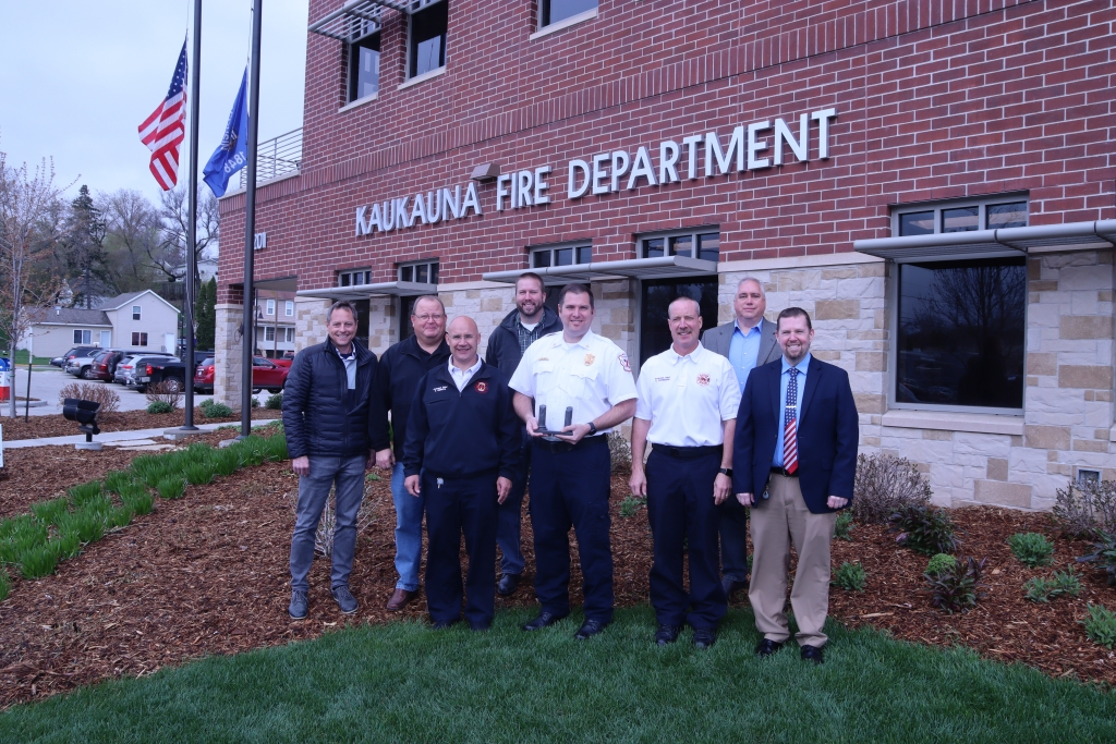 The City of Kaukauna Fire Department is very proud of its new fire station at the corner of Second Street and Reaume Avenue and now it has another...