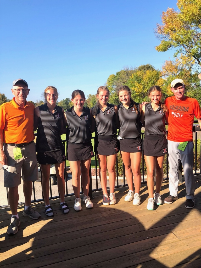 The Kaukauna girls' golf team shot 363, finishing just seven strokes back of regional champion Appleton North, to finish second overall at...