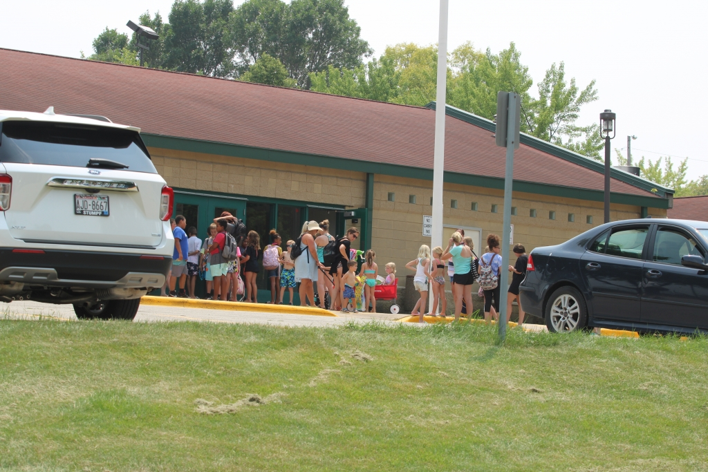 Highlights of the Kaukauna swimming pool master plan were discussed during the July 19 board of public works meeting. Blake Theisen of...