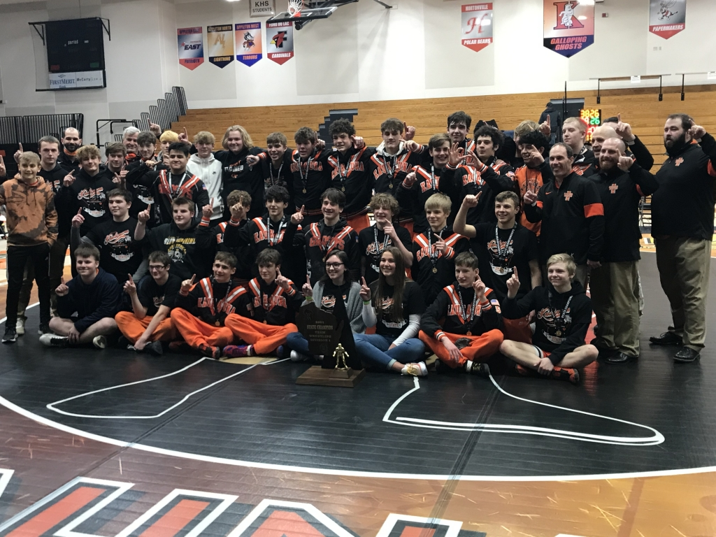 First it was a program-record seven on the podium at least weekend's individual state tournament, and now for good measure, the Kaukauna...