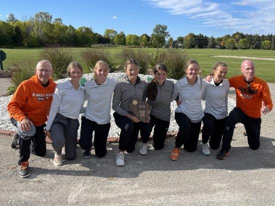 The Kaukauna girls' golf team shot a 353 at last Thursday's Fox Valley Association Conference Meet, beating Neenah by nine strokes to...